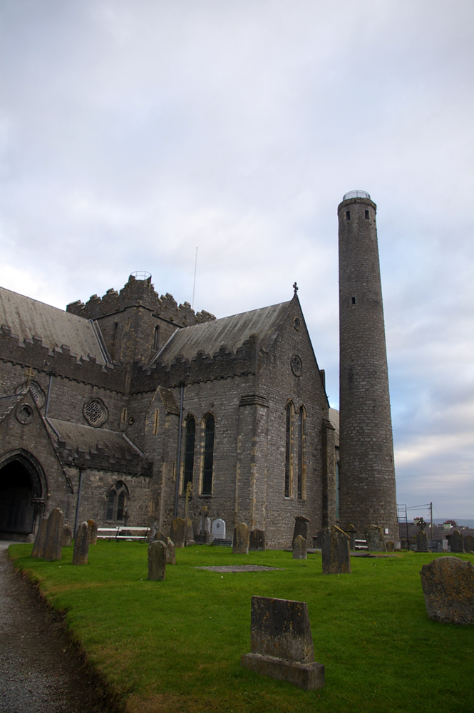 St Canice's Cathedral and Round Tower, Kilkenny.