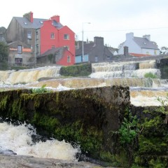 Postcard from Ireland: River Inagh in the town of Ennistymon