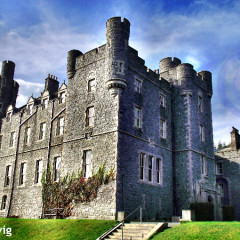 Postcard From Ireland: Castlewellan Castle