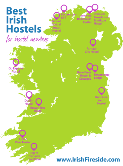 Best Irish Hostels for Hostel Newbies