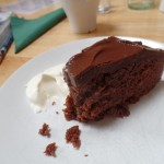 Chocolate Cake from Anna's Cafe on Clare Island