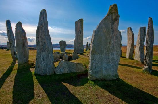 Callanish Stone Circle. Isle of Lewis, Scotland