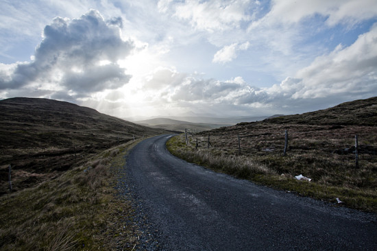 Connemara road - photo by Romain Ballex via Flickr Creative Commons
