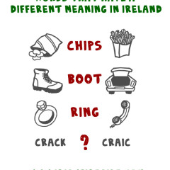 Words and Phrases that Have a Different Meaning in Ireland