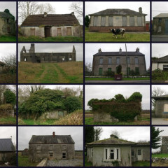 Postcard from Ireland: Old Irish Houses