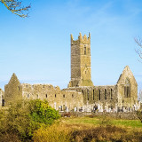 Postcard from Ireland: Claregalway Friary