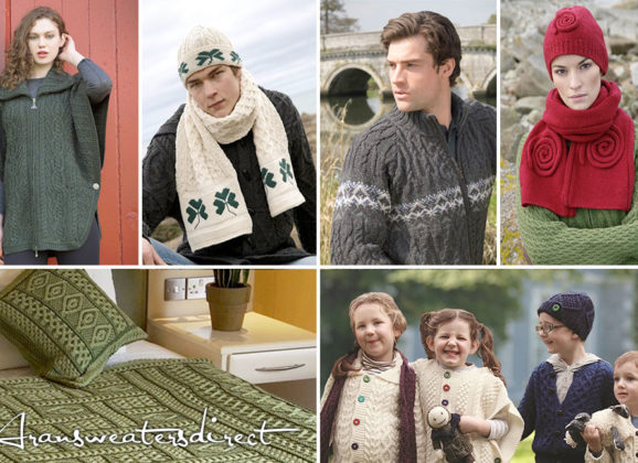 A Gift from Ireland: Aran Sweaters