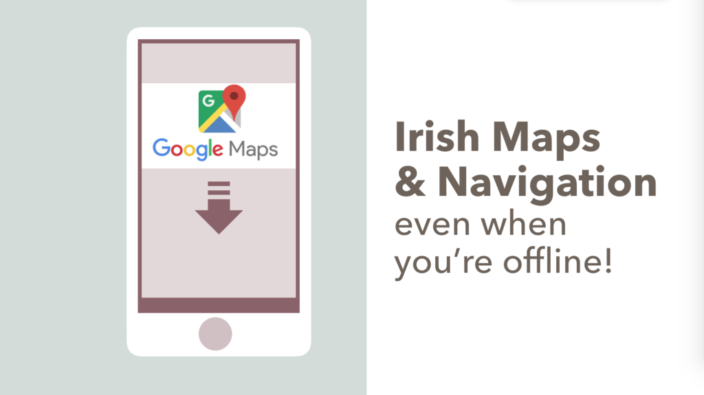 157 Downloading Offline Google Maps for Navigation in Ireland ... on