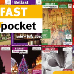 Belfast In Your Pocket Turns Five & You Can Get a Present! – Two Giveaways!